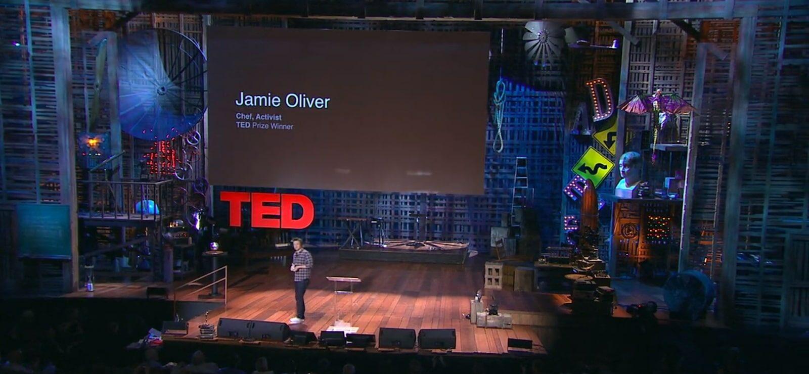 Jamie Oliver TED előadásának összetevői