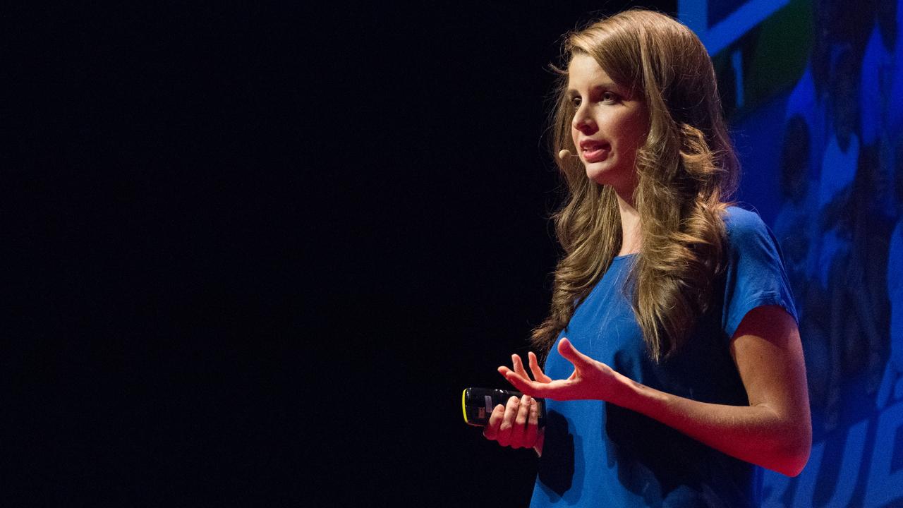 Stumpf kata előad a TEDxYouth színpadán
